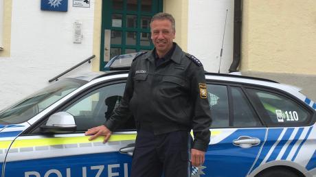 Martin Heinrich ist neuer Vize-Chef der Landsberger Polizei.