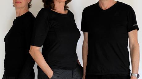"""""""Zum Blauen Veilchen"""" sind (von links) Monica Calla, Sybille Engels und Jan Jankovic."""