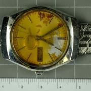 """Polizeitaucher haben unter anderem diese Uhr der Marke """"Citizen"""" mit einem """"Elasto-Fixo-Armband"""" im Starnberger See gefunden."""