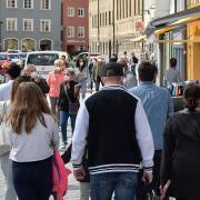 Viel los ist derzeit in der Landsberger Innenstadt.