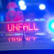 Zu einem heftigen Unfall kam es am Mittwoch in Mering.