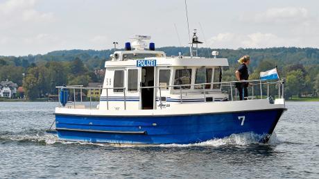 Das Polizeiboot WSP7 wird in diesem Jahr nicht auf dem Ammersee unterwegs sein.