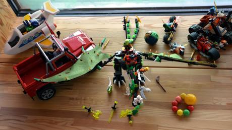 Das Spielzeug wurde in Penzing im Kindergarten St. Martin verräumt.