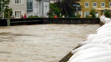 Hochwasser in Landsberg: Wie gut Bayern auf eine Flutkatastrophe vorbereitet wäre, erklärt Herbert Feulner, Leiter der Abteilung Katastrophenschutz im Bayerischen Innenministerium.