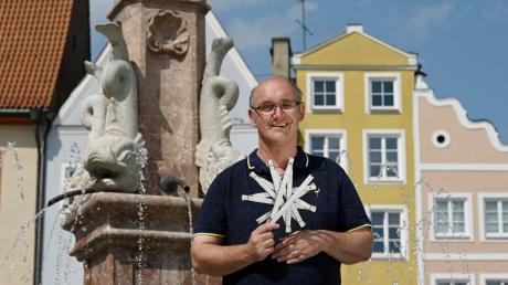Saskia Pavek hat sich im Sommer mit ihrer Kamera aufgemacht und Menschen an ihren Lieblingsorten in Landsberg abgelichtet - unter anderem Bernhard W.