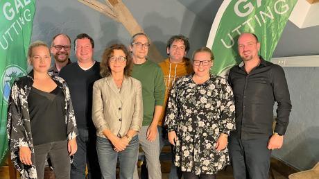 Der neue Vorstand der GAL Utting besteht aus (von links) Anna Münzer, Martin Erdmann, Torsten Leiter, Bettina Senger, Matthias Jausel, Florian Mayer, Michika Neugebauer und Christian Huber.