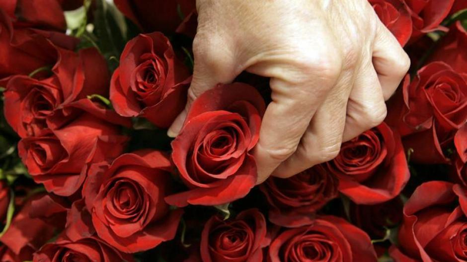 Mann zum valentinstag