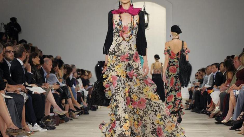 low priced 8e8fa 66d13 Mode: Fashion Week geht mit Calvin Klein und Ralph Lauren zu ...
