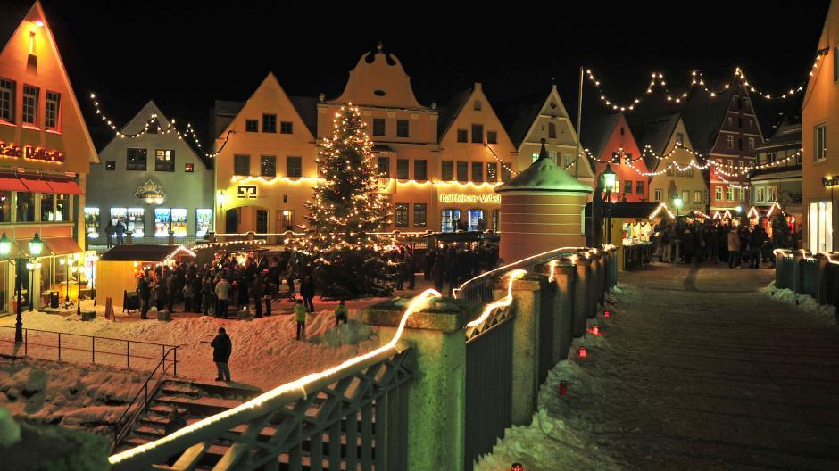 Romantischer Weihnachtsmarkt.Romantischer Weihnachtsmarkt Leben Freizeit Themenwelten