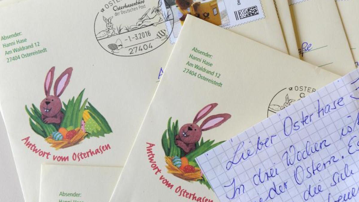 Post Brief Vom Osterhasen Personalisiert 7