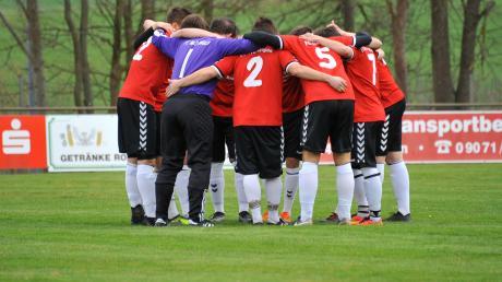 Zusammenhalten! Der FC Weisingen ist ein starkes Team.