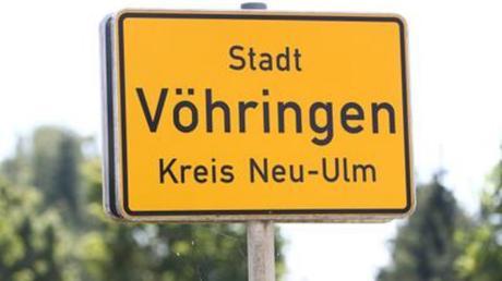 Die Stadt Vöhringen im Kreis Neu-Ulm.