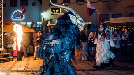 Ab 21. November ist auf dem DONwud wieder einiges geboten – am Samstag treten die Dreiflüsseteufel (Perchten) auf.