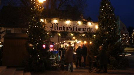 Am zweiten Adventswochenende wird auch in Altenstadt weihnachtliche Stimmung verbreitet.