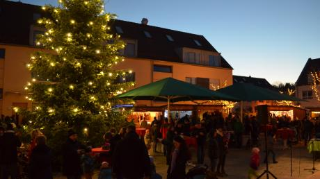 Stimmungsvolles Flairherrscht in Stadtbergen und seinen Ortsteilen bei den Weihnachtsmärkten.