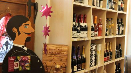 Besonders beliebt sind in der Weinhandlung Vollmann derzeit regionale Weine, wie vom Bodensee.