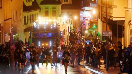 Ein beliebter Publikumsmagnet: der Dillinger Nachtumzug.