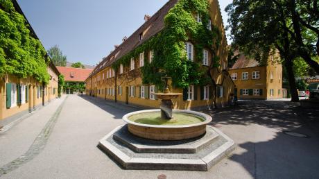 Die Fuggerei Augsburg ist die älteste bestehende Sozialsiedlung der Welt.