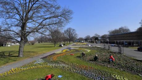 Auf dem Gelände der Bundesgartenschau in Erfurt soll auch ein Modellschulgarten entstehen.