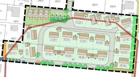 In Lichtenau am Unterfeld werden voraussichtlich ab 2020 Bauwilligen 18 Grundstücke für Einfamilienhäuser sowie eine Fläche für Reihenhäuser angeboten.