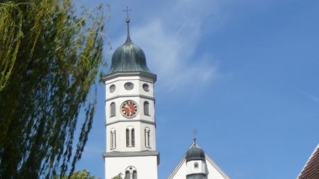 Blick auf die Klosterkirche Maihingen von Osten.