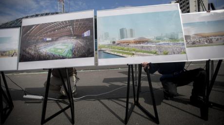 So soll das olympische Turnzentrum im nächsten Jahr aussehen, wenn es fertiggestellt ist.