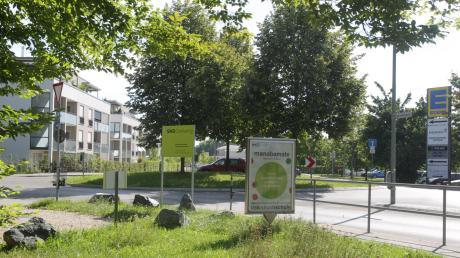 So ruhig ist es am Kreisel an der Deutschenbaurstraße nicht immer. Anwohner beklagen Probleme mit Autofahrern und lauter Musik.