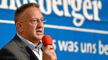 Thomas Salzberger (SPD) liegt nach dem aktuellen Stand der Stimmenauszählung in Kaufering klar vorn.