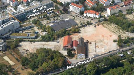 Noch laufen die Vorbereitungsarbeiten für das künftige Neubaugebiet Zeuna-Stärker. Ein Großteil der Industriegebäude ist bereits abgerissen, ein Teil bleibt erhalten.