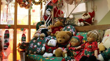 So sieht's aus im Christmas-Haus: Im Eingangsbereich…