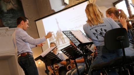 Bläserklassen wie diese zeigen, dass Musik an der Maria-Ward-Realschule einen hohen Stellenwert hat.