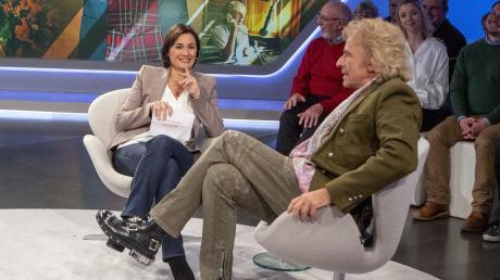 Thomas Gottschalk am Mittwoch bei Sandra Maischberger.