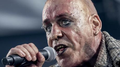In der deutschen Hörergunst weit vorn: Till Lindemann von Rammstein.