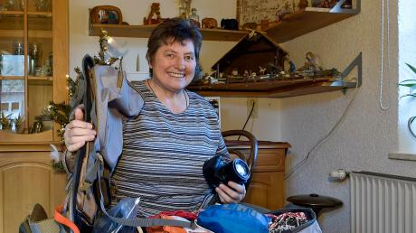 Gisela Klöck hat den Rucksack schon gepackt. Sie reist für fünf Wochen nach Indien, wo sie mit einer Freundin die Pilar-Patres besucht, die die Pfarreiengemeinschaft Vilgertshofen-Stoffen seit vielen Jahren geistlich betreuen.