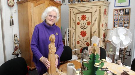 Immer wieder landen im Oberhauser Museumsstüble von Marianne Schuber auch Nachlässe verstorbener Oberhauser. In den Räumen in der Zollernstraße gibt es viel zu sehen. Die Hausherrin hat das Museum aber auch zu einer beliebten Begegnungsstätte gemacht.