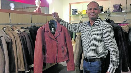 Bislang war Jamil Khan als Importeur von Lederbekleidung tätig. Jetzt betreibt er auch ein Einzelhandelsgeschäft in der Jakobervorstadt.