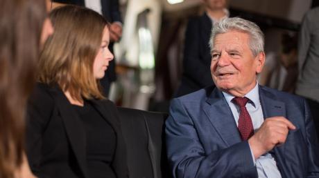 Joachim Gauck war von 2012 bis 2017 Bundespräsident. Nun feiert er seinen 80. Geburtstag.