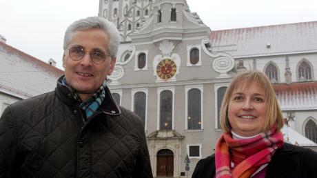 Kathrin Ballis-Kreiselmeier und ihr Mann Frank Kreiselmeier sind nur noch kurze Zeit in der Innenstadtgemeinde St. Ulrich als Seelsorger tätig.