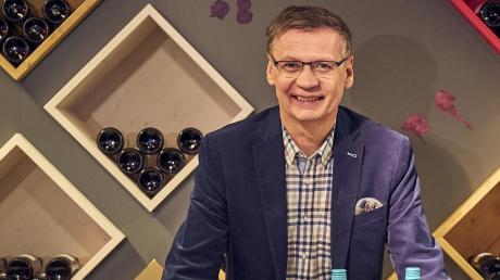 """""""Wer wird Millionär""""-Moderator Günther Jauch verkauft seit fast zwei Jahren zwei Weine beim Discounter Aldi."""