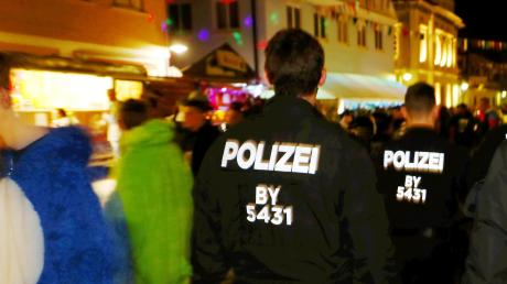 Auch die Bereitschaftspolizei war am Donnerstagabend und in der Nacht auf Freitag im Einsatz.