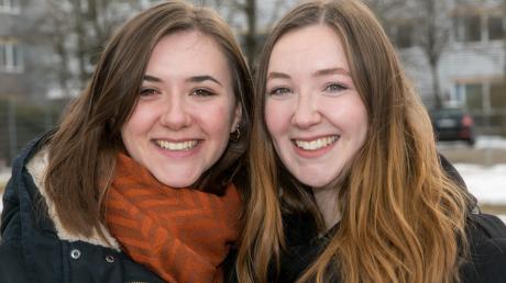 Elena Wendt (links) wird am heutigen 29. Februar 24 Jahre alt. Das feiert sie mit ihrer Schwester Elena, die am Sonntag 21 Jahre alt wird.