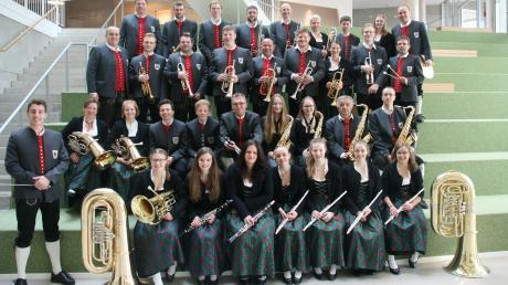 Von den 350 Mitgliedern des Musikvereins Bergheim sind 40 in der Blaskapelle aktiv.