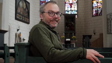 Martin Burkhardt freut sich auf seine seelsorgerische Aufgabe in St. Jakob und in der Hochschule.