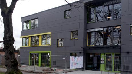 Der Bau der Kita Schwimmschulstraße hat länger gedauert als ursprünglich geplant.