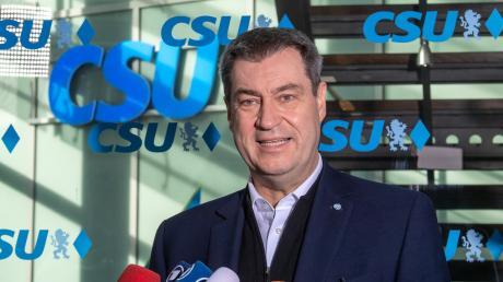 Markus Söder liegt in den Umfragen aktuell weit vor seiner Partei, der CSU.