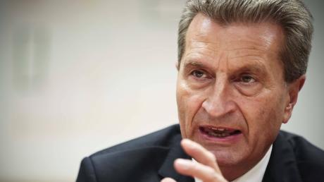 """Europapolitiker Günther Oettinger: """"Zwingend nötig, Kompetenzen neu zu sortieren und zu optimieren."""""""