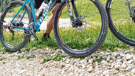 Eine Bikerin ist nahe Harburg gestürzt und musste ins Krankenhaus.