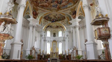 Die Abteikirche Neresheim stammt aus dem Spätbarock. Das Kloster existiert viele hundert Jahre länger. Es wurde bereits im Jahr 1095 gegründet. An diesem Wochenende hätte eigentlich ein wichtiges Jubiläum stattgefunden.