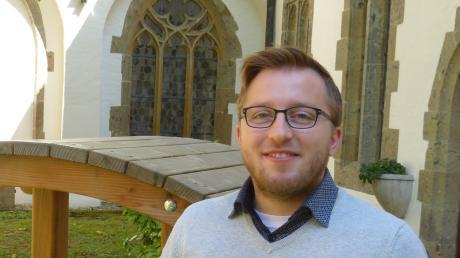 Martin Mayer hat ein breites Aufgabenspektrum von Religionsunterricht bis Kinder- und Jugendarbeit.