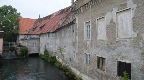 Die Münzmühle ist die größte und älteste der Gundelfinger Mühlen. Doch die Gemäuer müssen dringend saniert werden.